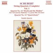 Schubert: String Quartets (Complete), Vol. 1 by Kodaly Quartet