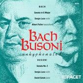 Bach, J.S.: Sonata No. 6 for Violin and Harpsichord in G Major / Busoni, F.: Violin Sonata No. 2 by Various Artists