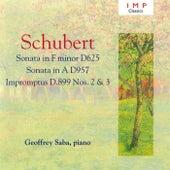 Schubert: Piano Sonatas No.12 & 20 de Geoffrey Saba