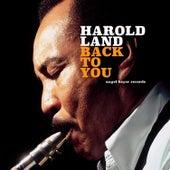 Back to You von Harold Land