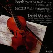 Mozart: Violin Concerto No. 3 - Beethoven: Violin Concerto in D Major by David Oistrakh