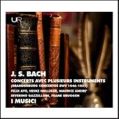 J.S. Bach: Brandenburg Concertos de Heinz Holliger