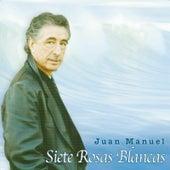 Siete rosas blancas de Juan Manuel