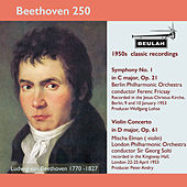 Beethoven 250 Symphony No. 1, Violin Concerto by Ferenc Fricsay