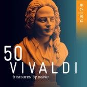 50 Vivaldi Treasures by Naïve by Fabio Biondi, Philippe Jaroussky, Christophe Coin, Sandrine Piau