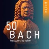 50 Bach Treasures by Naïve di Anne Gastinel, Karol Teutsch, Hopkinson Smith, Rinaldo Alessandrini