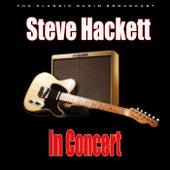 In Concert (Live) de Steve Hackett