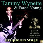 Couple on Stage von Faron Young Tammy Wynette