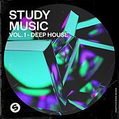 Study Music, Vol. 1: Deep House (Presented by Spinnin' Records) van Various Artists