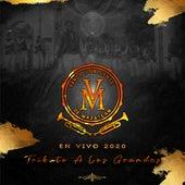 Tributo a los Grandes: En Vivo 2020 de Banda Sinaloense MV de Mazatlán