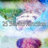 25 Storms Function by Rain Sounds and White Noise