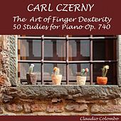Czerny: The Art of Finger Dexterity, 50 Studies for Piano, Op. 740 by Claudio Colombo