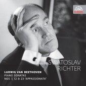 Beethoven: Piano Sonatas, Nos. 7, 12 & 23 by Sviatoslav Richter