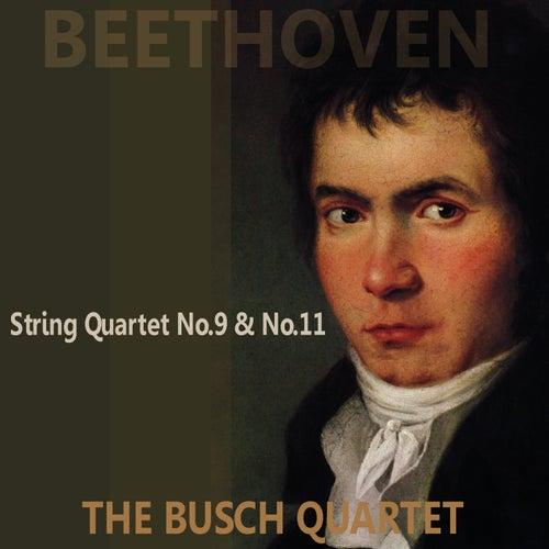 Beethoven: Quartets No. 9 & 11 by Busch Quartet