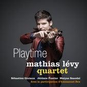 Playtime de Mathias Lévy Quartet