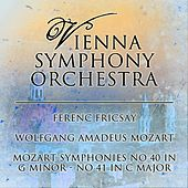 Mozart: Symphonies No. 40 in G Minor - No. 41 in C Major von Vienna Symphony Orchestra