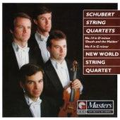 Schubert String Quartets di New World String Quartet