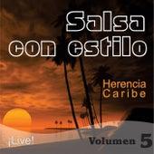 Salsa Con Estilo, Vol. 5 (Live) de Herencia Caribe
