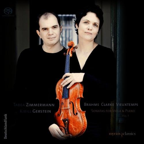 Brahms, Clarke & Vieuxtemps: Sonatas for Viola & Piano, Vol. 1 by Tabea Zimmermann