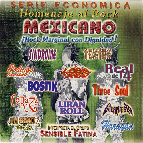 Homenaje Al Rock Mexicano by Various Artists