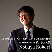 3 Etudes of Concert, No.3 Un Sospiro in D flat Major S144/R5 by Nobuya  Kobori