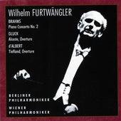 Brahms, Gluck & d'Albert: Orchestral Works (Live) by Wilhem Furtwängler