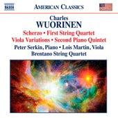 Wuorinen: Scherzo - String Quartet No. 1 - Viola Variations - Piano Quintet No. 2 by Various Artists