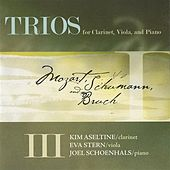 Trios for Clarinet, Viola and Piano by Various Artists