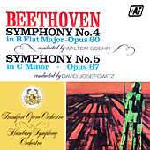 Symphony No. 4 In B Flat Major, Op. 60 / Symphony No. 5 In C Minor, Op. 67 by Frankfurt Opera Orchestra