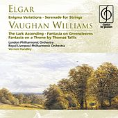 Elgar Enigma Variations, Vaughan Williams The Lark Ascending von Vernon Handley
