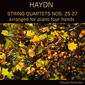 Haydn: String Quartets Nos. 25-27, arranged for piano four hands by Claudio Colombo