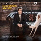Schoenberg & Brahms: Violin Concertos by Jack Liebeck