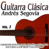Guirtarra Clasica Vol.1 de Andres Segovia