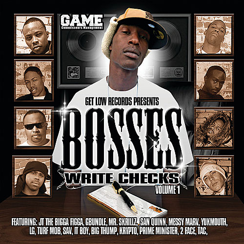 Bosses Write Checks by Various Artists