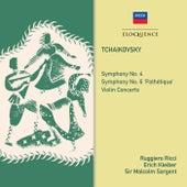Tchaikovsky: Symphonies 4, 6, Violin Concerto de Erich Kleiber