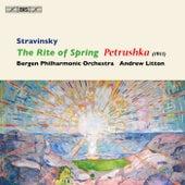 Stravinsky: The Rite of Spring - Petrushka de Andrew Litton