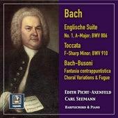 J.S. Bach & Busoni: Keyboard Works by Edith Picht-Axenfeld