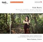 Folk Roots: Works by Janáček, Veress, Holliger, Enescu, Schulhoff & Bartók de Maia Cabeza