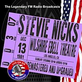 Legendary FM Broadcasts - Wilshire Ebell Theatre Los Angeles CA 13th October 1981 de Stevie Nicks