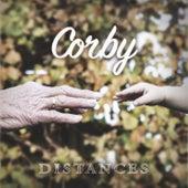 Distances von Corby