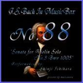 Bach In Musical Box 88 / Sonata for Violin Solo No.3 Bwv 1005 de Shinji Ishihara