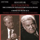 Schubert: 6 Moments musicaux, Op. 94 - Beethoven: Cello Sonatas Nos. 1-5 von Pierre Fournier