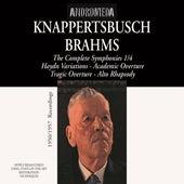 Brahms: Symphonies Nos. 1-4 & Other Works by Hans Knappertsbusch