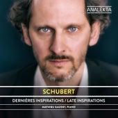 Schubert: The Complete Sonatas and Major Piano Works, Volume 2 - Late Inspirations de Mathieu Gaudet