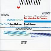 Les Chemins De L'Amour: The Songs Of Francis Poulenc by Ian Hobson
