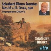 Schubert: Piano Sonatas Nos. 16 and 17 – Richter by Sviatoslav Richter
