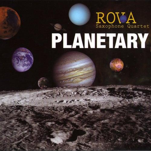 Planetary by Rova Saxophone Quartet