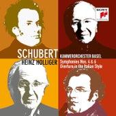 Schubert: Symphonies Nos. 4 & 6 von Kammerorchester Basel