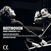 Beethoven: Pianos concertos 1 & 4 de Martin Helmchen
