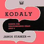 Sonata For Unaccompanied Cello, Op. 8 by Janos Starker